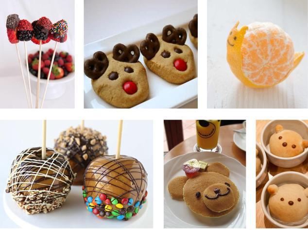 fröhliche Snacks