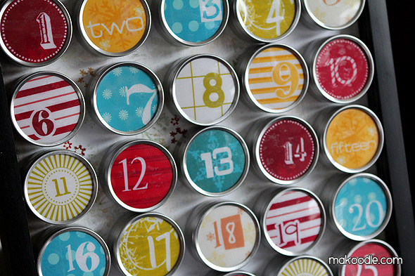 Adventskalender von http://www.makoodle.com/diy-advent-calendar/